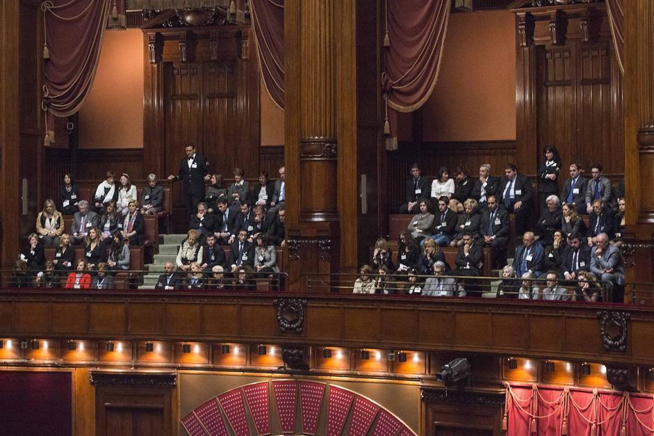 prima seduta del parlamento