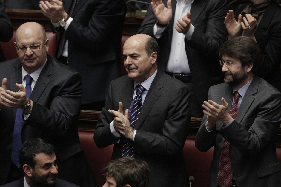Pierluigi Bersani (Giuseppe Lami/Ansa)