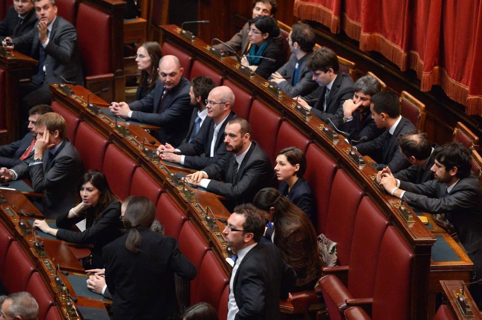 Prima seduta del parlamento for Parlamento in diretta