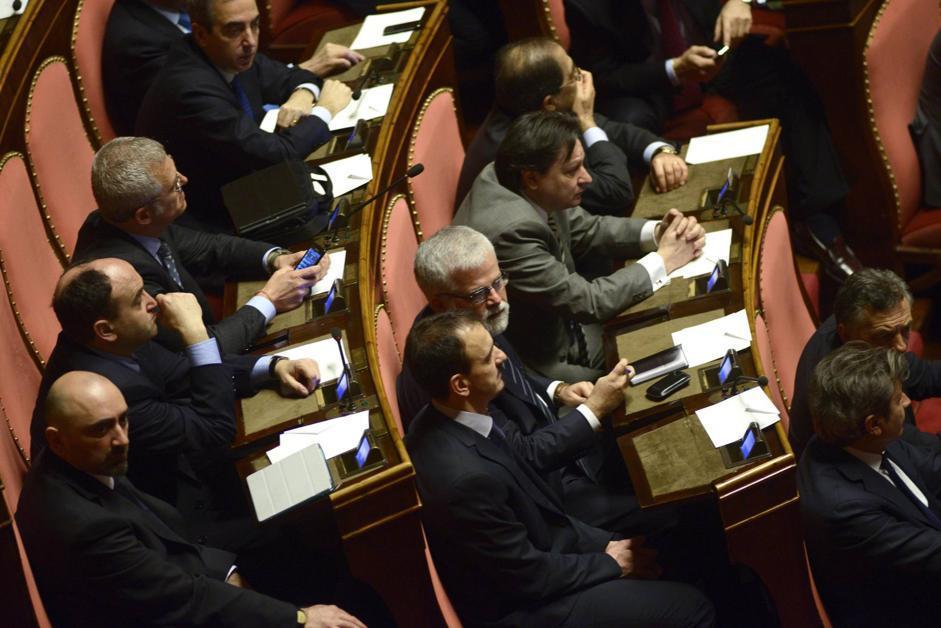 Il candidato presidente del Senato del Movimento 5 Stelle Luis Alberto Orellana (Guido Montani/Ansa)