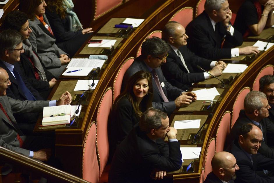 La senatrice del Movimento 5 Stelle Enza Blundo (Guido Montani/Ansa)