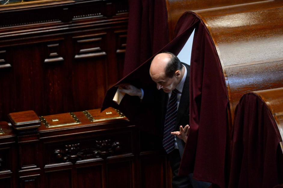 Pierluigi Bersani (Daniele Scudieri/Imagoeconomica)