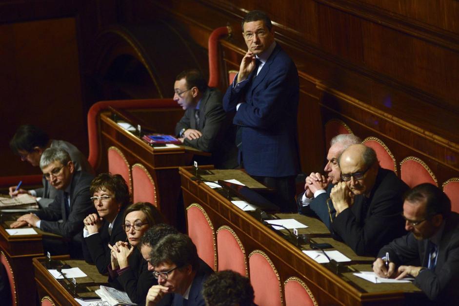 Il senatore Ignazio Marino (Guido Montani/Ansa)
