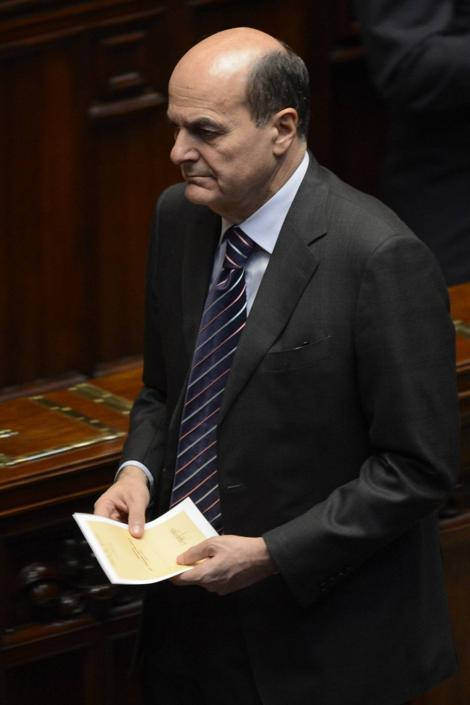 Pierluigi Bersani (Andreas Solaro/Afp)
