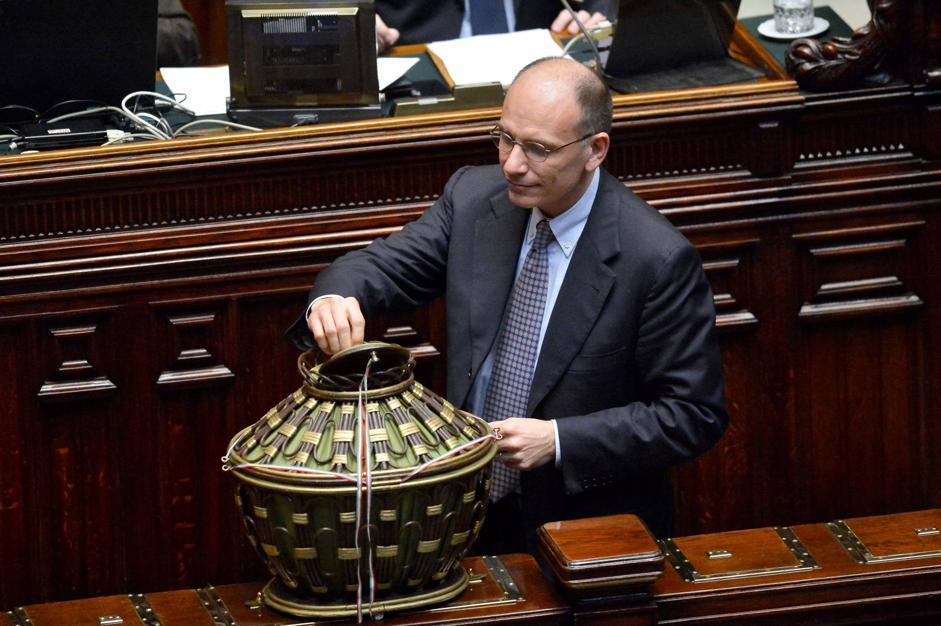 Enrico Letta (Daniele Scudieri/Imagoeconomica)