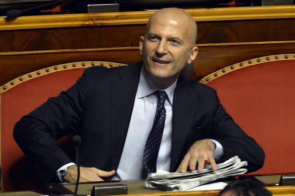 Augusto Minzolini (Alberto Lingria/Afp)