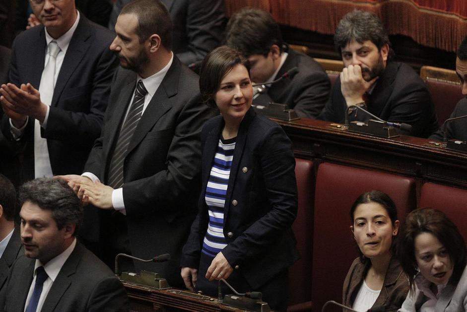 Gessica Rostellato e Federica Daga (Giuseppe Lami/Ansa)