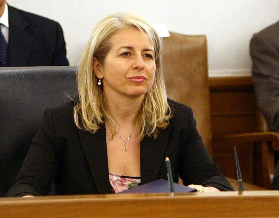 Donatella Ferranti, Pd,  sarà responsabile della commissione Giustizia di Montecitorio. Il 5 stelle Alfonso Bonafede e Carlo Sarro (Pdl) sono stati eletti vicepresidenti (Ansa/Ferrari)