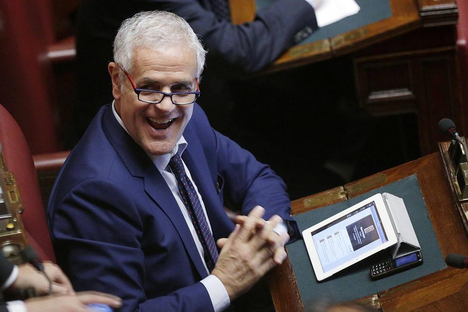 L'ex presidente della regione Lombardia Roberto Formigoni è il presidente della commissione Ambiente del Senato (Eidon/Antimiani)