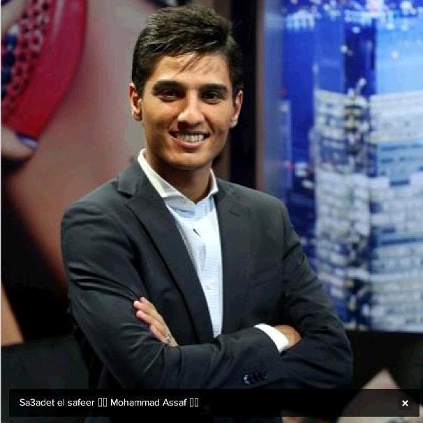 Mohammad Assaf durante il programma (Istagram)