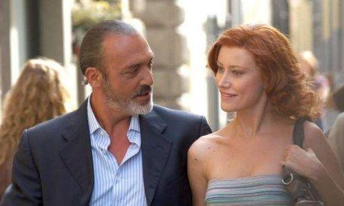 Luca Ward e Giorgia Würth: nella serie sono Ruggero Camerana e Tessa Taviani