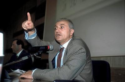 Presentazione a Roma del nuovo Movimento osservatorio europeo sulla legalita e la questione morale (Olycom)