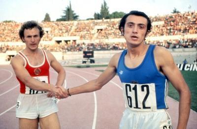 Il duello con Borzov si � ripetuto anche nel 1974, agli Europei di Roma (Olycom)