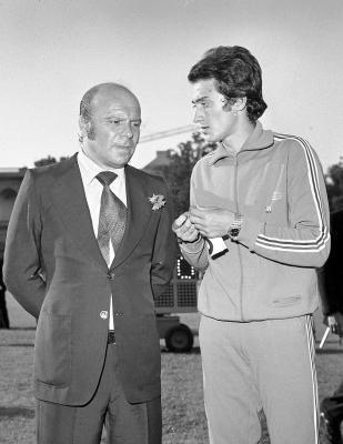 Ancora con Primo Nebiolo nel 1972 (Olycom)