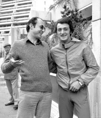 Con Livio Berruti a Monaco 1972 (Olycom)