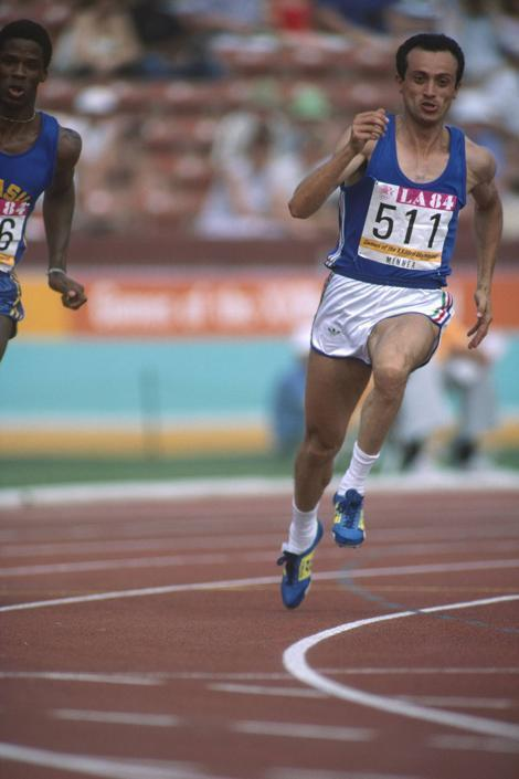 In gara anche a Los Angeles, 1984. Fu quarto con la 4x100 e quinto con la 4x400 (Gilbert Iundt/TempSport/Corbis)
