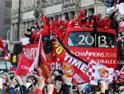  Manchester United campione: la festa 