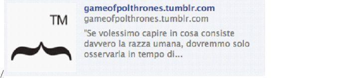 Game of poltrhones.  Chiara l?assonanza con la serie tv Game of thrones, ma ugualmente chiaro il riferimento a ?poltrone?. È anche