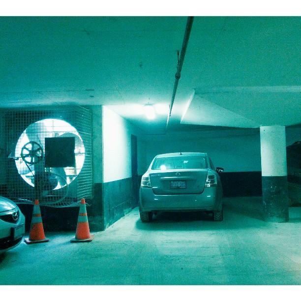 Ecco dove ho parcheggiato/1 (da Instagram)