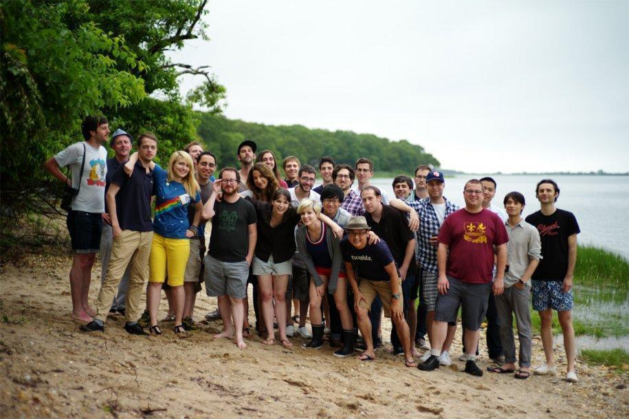 8 - Una foto di gruppo di CampTumblr nel 2011