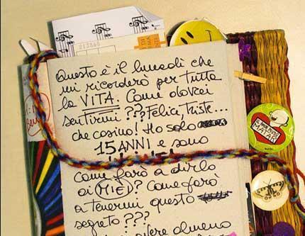 6 - Tenere un diario segreto, in favore di una bacheca pubblica.