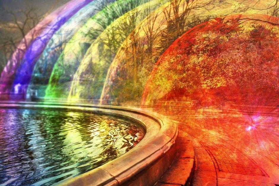 Nel suo progetto, Lamm ha lavorato con l?astrobiologo ed ex dipendente NASA M. Browning Vogel: grazie alla sua precisione i campi elettromagnetici del WiFi sono stati immaginati come sfere multicolore che si estendono per 20-30 metri.