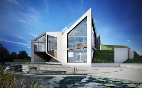 La casa origami for Case di architetti famosi