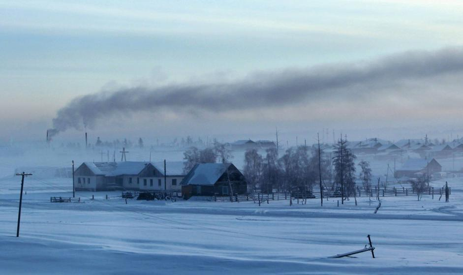 Il villaggio di Maralayi, nella Repubblica di Sakha (Reuters/Maxim Shemetov)