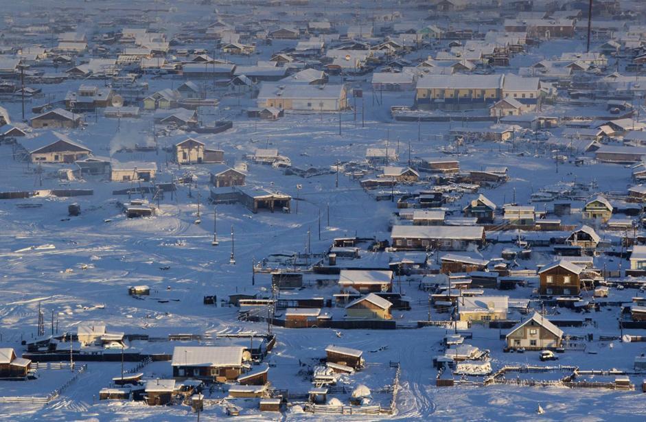 Il villaggio di Tomtor (Reuters/Maxim Shemetov)