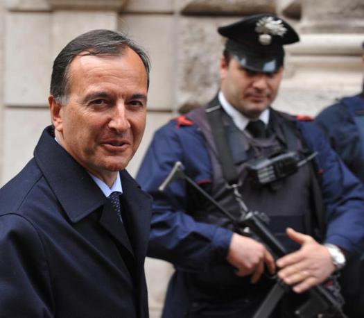 Il ministro degli Esteri Franco Frattini (Ansa)