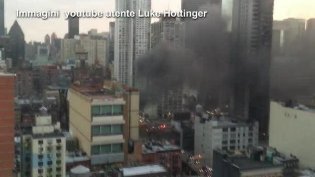Aquarius allarme a new york brucia grattacielo for Un re a new york