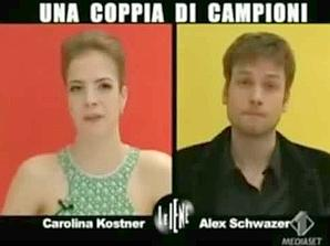 Carolina Kostner e Alex Schwazer sottoposti all'intervista doppia de Le Iene' nella puntata trasmessa il 30 marzo 2009 dicevano &quot;no al doping&quot;. Alla domanda chi ti ha deluso di pi&ugrave;, Schwazer rispose: Chi si &egrave; dopato. Parole queste del marciatore, oro nella 50 chilometri a Pechino 2008, oggi fermato per aver fatto uso di Epo, che suonano come stonate.