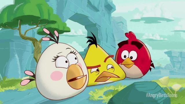 Angry birds toons arrivano i cartoni animati degli