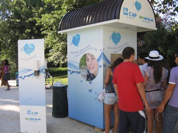 Casa dell'acqua al Parco Sud Milano