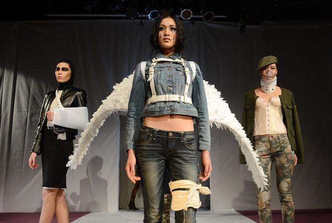 I capi di abbigliamento analizzati comprendono jeans, pantaloni, t-shirt, abiti e biancheria intima disegnati per uomini, donne e bambini (Afp/Ralston)