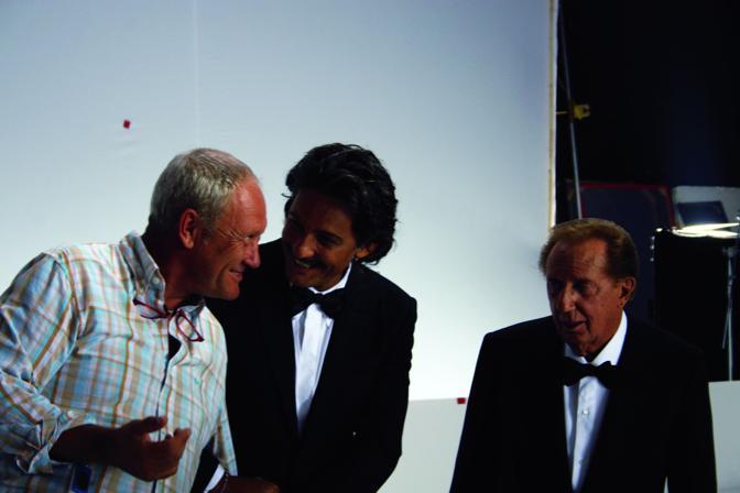 Con Fiorello e Mike Bongiorno...