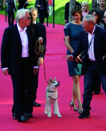 Sul red carpet della Festa del Cinema di Roma assieme a Richard Gere per la presentazione di «Hachiko»