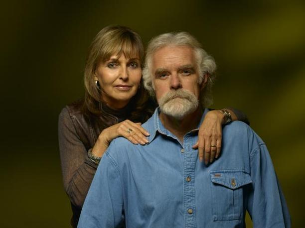 Un'altra immagine dei coniugi Joubert