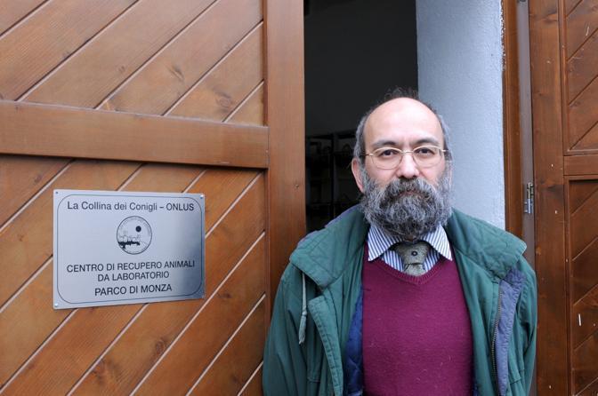 Stefano Martinelli, presidente dell'associazione (Fotogramma)