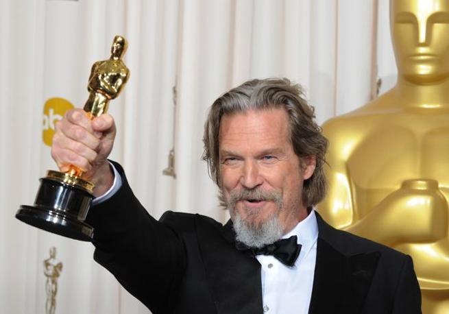 Jeff Bridges, premiato come miglior attore protagonista (Afp)