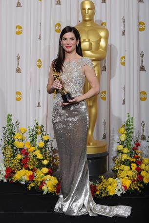Sandra Bullock, migliore attrice protagonista (Afp)