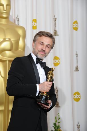 Christoph Waltz, migliore attore non protagonista, per la sua partecipazione ad «Inglorious Basterds» di Tarantino (Afp)