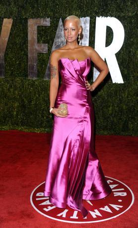 Amber Rose osa uno stile cioccolatino al party post premiazione (Ap)