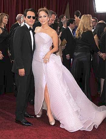 Jennifer Lopez e Marc Anthony (Ansa)