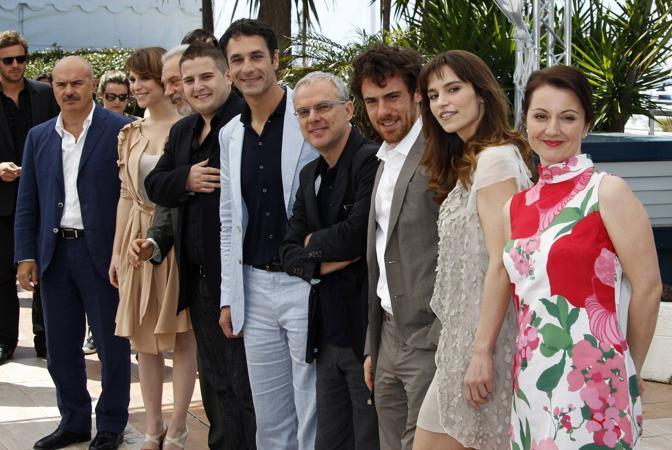 Con il cast de «la nostra vita» a Cannes (Reuters)