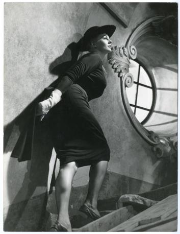 Anita Ekberg, La Dolce Vita, 1960  Fotografia del set