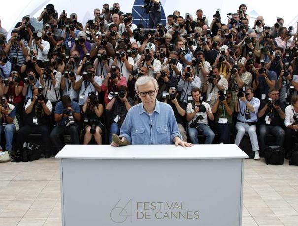 Woddy Allen al photocall (Reuters)