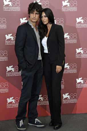 Festival del Cinema di Venezia. Monica Bellucci e Louis Garrel (LaPresse)