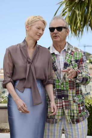 Tilda Swinton e Bill Murray (Ansa)