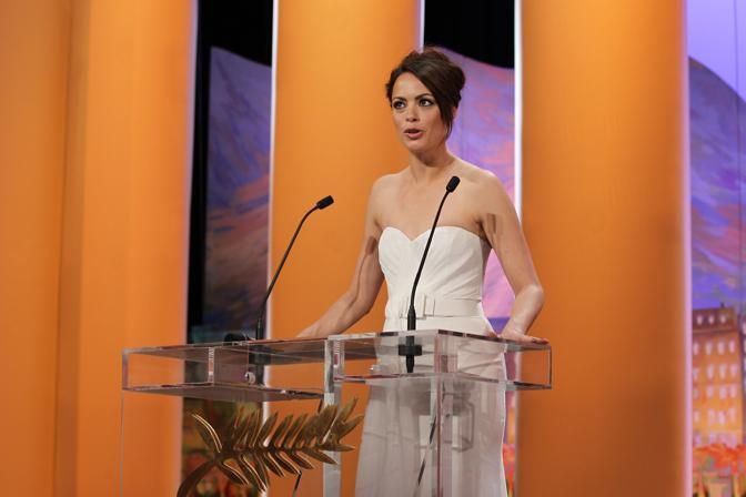 L&#39;attrice francese e madrina di cerimonia Berenice Bejo (Afp)